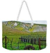 Carrizo Plain Ranch Wildflowers Weekender Tote Bag