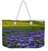Carrizo Plain Wildflowers Weekender Tote Bag