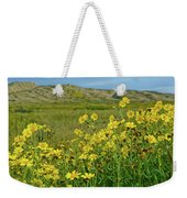 Carrizo Plain Yellow Daisies Weekender Tote Bag