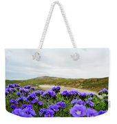 Carrizo Plains Phacelia Weekender Tote Bag