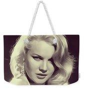 Carrol Baker, Vintage Actress Weekender Tote Bag