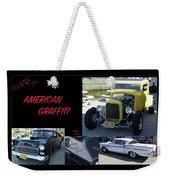 Cars From American Graffiti Weekender Tote Bag