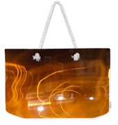 Cars On Fire Weekender Tote Bag