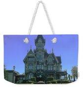 Carson Mansion Weekender Tote Bag