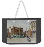 Carson Street Southside Pittsburgh Weekender Tote Bag