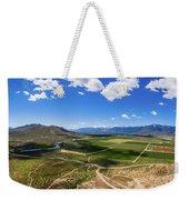 Carson Valley Panorama Weekender Tote Bag