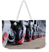 Cart Wheels Weekender Tote Bag