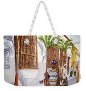 Cartagena Peddler I Weekender Tote Bag