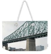 Cartier Bridge Day Weekender Tote Bag