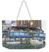 Cartoon Boats Weekender Tote Bag