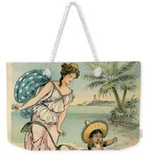 Cartoon: Cuba, 1902 Weekender Tote Bag