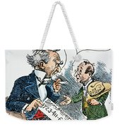 Cartoon: New Deal, 1935 Weekender Tote Bag