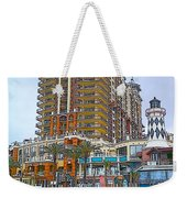 Cartoon Skyscraper  Weekender Tote Bag