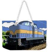 Illustrated Train Weekender Tote Bag