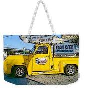 Cartoon Truck Weekender Tote Bag