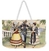 Cartoon: Uncle Sam, 1898 Weekender Tote Bag