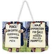 Cartoon: U.s. Neutrality Weekender Tote Bag