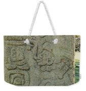 Carved Danzantes Stone Weekender Tote Bag