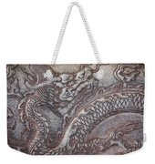 Carved Dragon Weekender Tote Bag