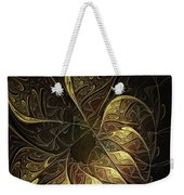 Carved In Gold Weekender Tote Bag