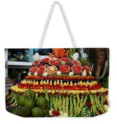Carved Watermelon, Surin Elephant Weekender Tote Bag