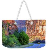 Carving The Canyons - Unaweep Tabeguache - Colorado Weekender Tote Bag