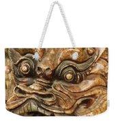 Carvings In Jade - 3 - A Dragon's Face  Weekender Tote Bag