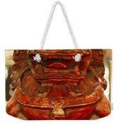 Carvings In Jade - 4 - The Red Dragon Weekender Tote Bag