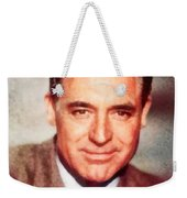 Cary Grant By John Springfield Weekender Tote Bag