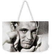 Cary Grant, Hollywood Legend By John Springfield Weekender Tote Bag