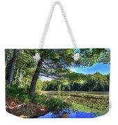Cary Lake In August Weekender Tote Bag