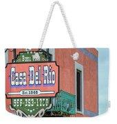 Casa Del Rio In Roma Texas Weekender Tote Bag
