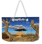 Casa Grande Ruins National Monument Weekender Tote Bag by Sam Antonio Photography