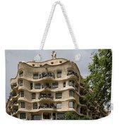 Casa Mila In Barcelona, Spain Weekender Tote Bag