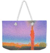 Casapaz  Palm At Dawn Weekender Tote Bag