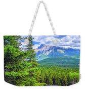Cascade Mountain Weekender Tote Bag