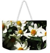 Cascade Of White Flowers Weekender Tote Bag
