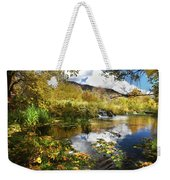 Cascade Springs Large Pool  Weekender Tote Bag