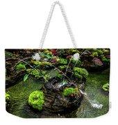 Cascades Fountains Weekender Tote Bag