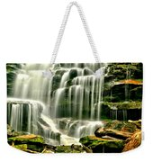 Cascades Of Erie Falls  Weekender Tote Bag