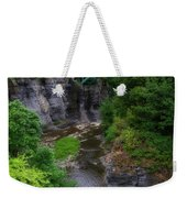 Cascadilla Gorge Cornell University Ithaca New York 01 Weekender Tote Bag