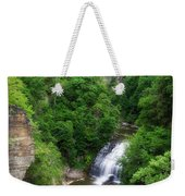 Cascadilla Waterfalls Cornell University Ithaca New York 01 Weekender Tote Bag