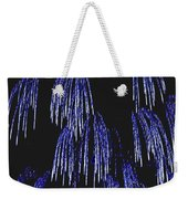 Cascading Fireworks Weekender Tote Bag by DigiArt Diaries by Vicky B Fuller