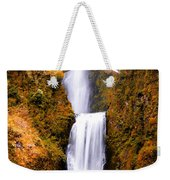 Cascading Gold Waterfall Weekender Tote Bag