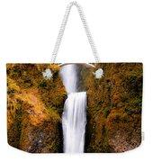 Cascading Gold Waterfall II Weekender Tote Bag