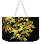 Cascading Leaves Weekender Tote Bag