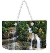 Cascading Skagway Waterfall  Weekender Tote Bag