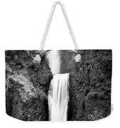 Cascading Waterfall Multnomah Falls Weekender Tote Bag