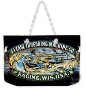 Case Threshing Machine Co Weekender Tote Bag