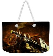 Casey Jones And The Cannonball Express Weekender Tote Bag
